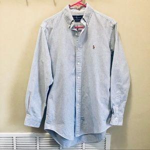 Ralph Lauren Men's Striped Shirt Size 15-33